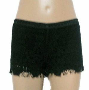 Mossimo Supply Co Black Knit Shorts
